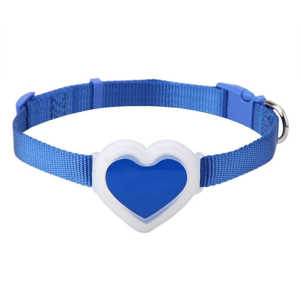 Rastreador de Mascotas Perros Gatos Rastreador GPS Perro Seguimiento en Tiempo Real Collar Impermeable para Mascotas Anti-Perdida Buscador de Seguridad Localizador de Carga USB Inteligente(Rosa)