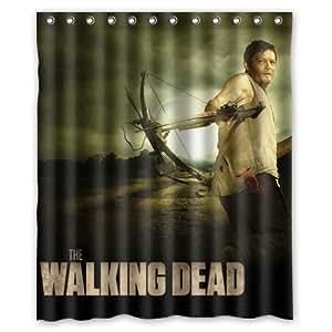 The Walking Dead Daryl Dixon Custom Rideau de douche 152,4x 182,9cm Rideaux de Salle de Bain