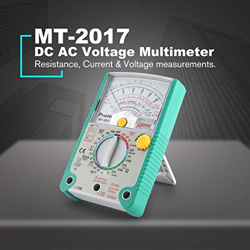 Proskit MT-2017 AC/DC Analog Grafik Zeiger Multimeter Widerstand Kapazität (Farbe: Grün) (Grafik-multimeter)