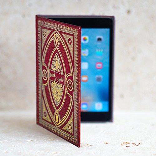 Harry Potter Gryffindor inspiriert Buch der Zaubersprüche Cover für Amazon Kindle Fire und 17,8cm Tablets (Fall Potter Hd Fire Harry Kindle)