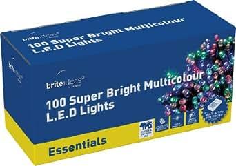 Brite Ideas Festive Productions 100 LED Lights - Multicolour