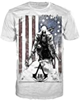 Assassin's Creed III -M- White, Burned Flag