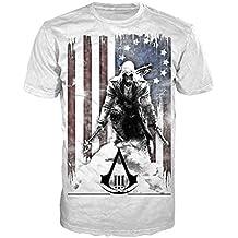 Assassin's Creed III -XL- White, Burned Flag