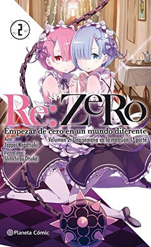 Re:Zero (novela) nº 02: Una semana en la mansión 1ª parte (Manga Novelas (Light Novels))