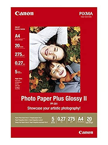 Canon Photo Paper Plus Glossy II PP201 papier photo A4 20 feuilles