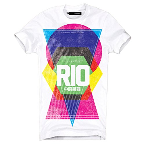 "DEPARTED Fashion Shirt ""3447-020"" Weiß"