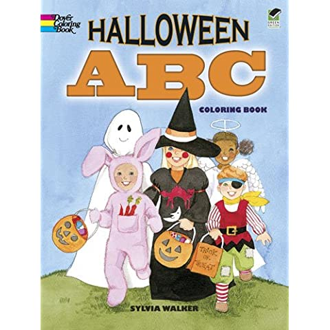 Halloween ABC Coloring