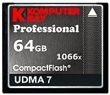 Komputerbay 64GB Professionelle Compact Flash-Karte zu schreiben 1066X CF 155