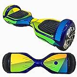 HCFKJ 6,5 Zoll Self-Balancing Scooter Skin Hover Elektro Skate Board Aufkleber Zwei-Rad Smart Schutzhülle Fall Aufkleber (M)