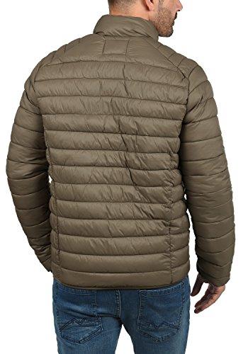 Blend Nils Herren Steppjacke Übergangsjacke Jacke Mit Stehkragen, Größe:S, Farbe:Mocca Brown (71508) - 4