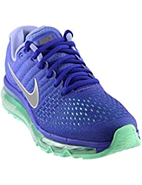 Nike Women's WMNS Air Max 2017, Concord/White-Persian Violet, 5.5 US