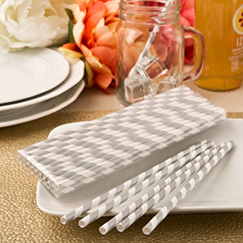 perfect-plain-collection-matte-silver-and-white-stripe-design-paper-straws-drinking-straws-need-not