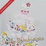 Kuchen BOMBONIERA GEBURT TAUFE Erste Geburtstag Hello Kitty sortiert Versand inklusive Torta da 20 fette