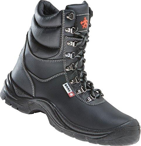 Baak di sicurezza, Magnus 8514 Polar ci S3, con lacci, colore: nero, Nero, 8514