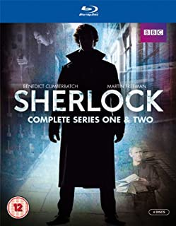 Sherlock - Series 1 & 2 Box Set [Blu-ray] [Import anglais] (B006K1IIHA) | Amazon price tracker / tracking, Amazon price history charts, Amazon price watches, Amazon price drop alerts