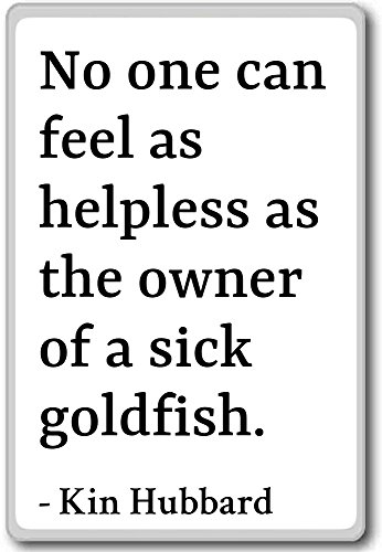 No one can feel as helpless as the owner of a s......