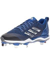 3aa5f27e27 Adidas Hombres Icon MD Bajos & Medios Cordon Zapatos para Béisbol, ...