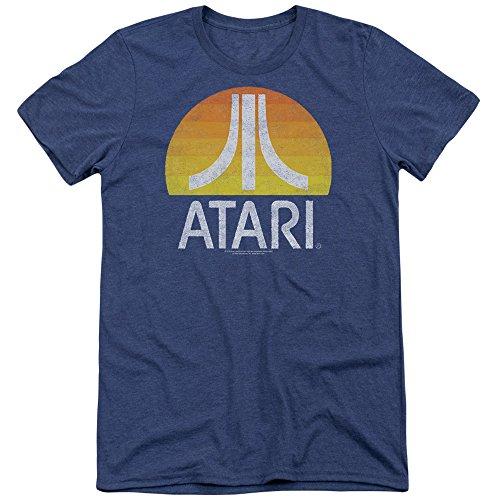atari-herren-t-shirt-opaque-blau-blau-gr-xxl-blau