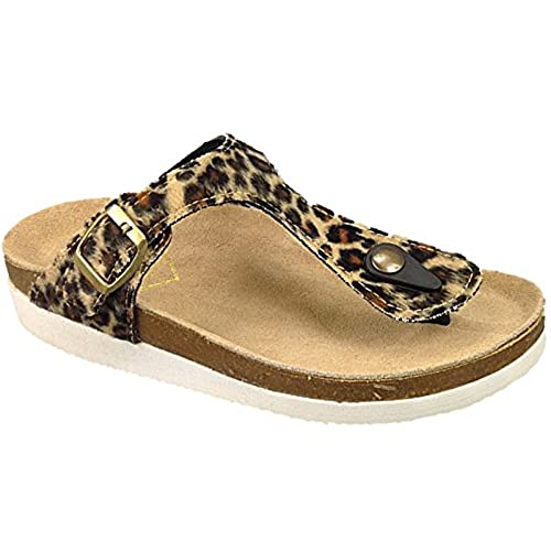 Leopard Print Sandals: Amazon.co.uk