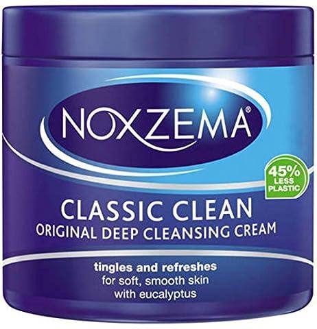 Noxzema Classic Clean Original Deep Cleansing Cream 12oz Jar (6 Pack) by Noxzema