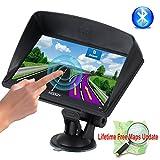 xgody 715Bluetooth 17,8cm tragbar Auto Truck GPS 8GB ROM Navigation System Kapazitive Touchscreen fm mp3mp4Navigator Unterstützung Lifetime Maps Update mit Sonnendach