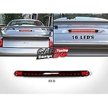 Trasero LED Rojo tercer tercera parada luz de freno Lámpara Rojo Lente para 911 996
