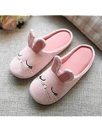 LOMYEN Pantofole per Le Donne A Casa Infradito Inverno Caldo Carino Scarpe Interne Regali Di Natale,36/37