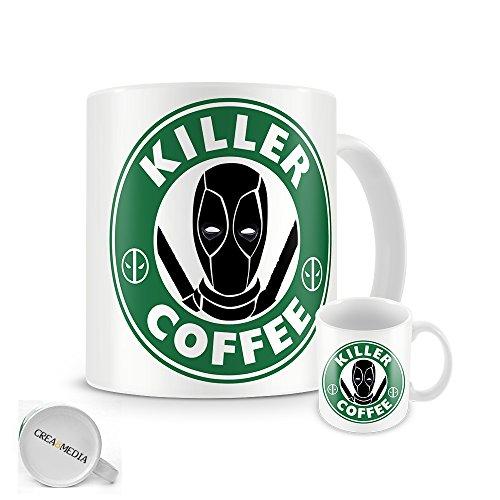 Deadpool-Killer tazza di caffè Starbucks, per caffè, Comics, 11 oz