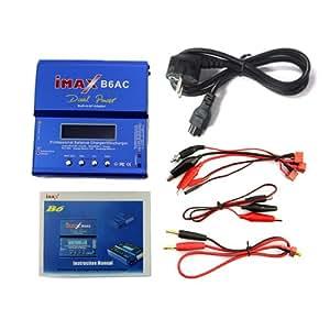 Digital LCD iMAX B6-AC B6AC Lipo/NiMH 2S-6S Balancing Battery Charger300mAh/cell