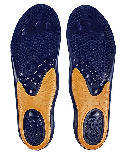 HKM Messieurs Tapis de gel pour chaussures transparent