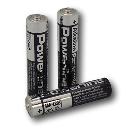 4Panasonic Powerline AAA LR03MN2400Batterie Industrial Alkaline Batterien Panasonic Industrial Alkaline