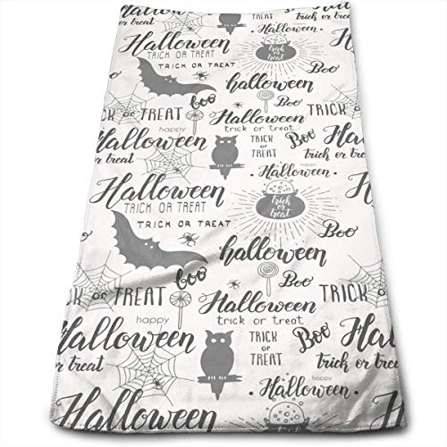 Halloween Cat Cloud Boo Super Soft Absorbent Sports/Beach/Shower/Pool Towel ()
