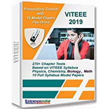 VITEEE 2019 Preparatory Course with 10 Model Papers (Pen Drive)
