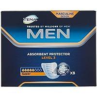 Tena Men - compresas para hombres con nivel 3 de protección y absorción – Paquete de 16