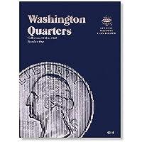 Coin Folders Quarters: Washington, 1932-1947 (Official Whitman Coin Folder) by Whitman Publishing (1-Jul-1988) Hardcover