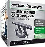 Attelage rotule démontable pour MERCEDES-BENZ CLASSE C Décapotable + faisceau 13...