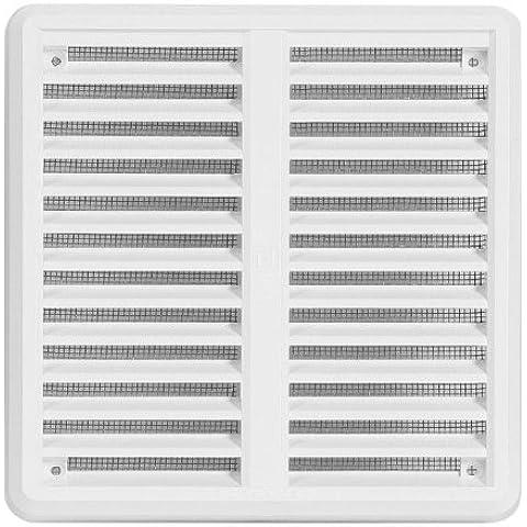 Awenta - Rejilla de ventilación, color blanco (150 x 150mm)
