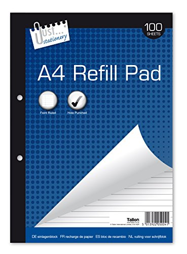 just-stationery-100-sheet-a4-refill-pad