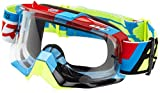 Fox Goggles Air Space Divizion, Black Zebra/Clear, One Size, 15346-901