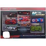 PLUSPOINT Avengers Die-Cast Vehicle (8 Pcs Multi Color)