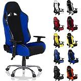 RACEMASTER® Racing Bürostuhl  RS Series , Bezugwahl Stoff oder Kunstleder, Farbwahl, viele Einstellmöglichkeiten