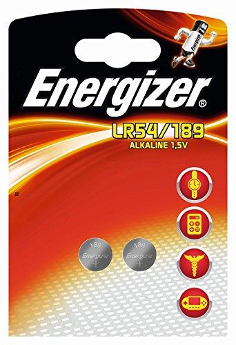 ENERGIZER Lot de 5 Blisters de 2 piles calculatrices/photo 189 LR54