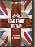 DISCOVERY CHANNEL - HOME FRONT BRITAIN with JIM CARTER - DEFIANCE & COURAGE - NEW BUT NOT SEALED - VERY COLLECTABLE AND RARE TO FIND