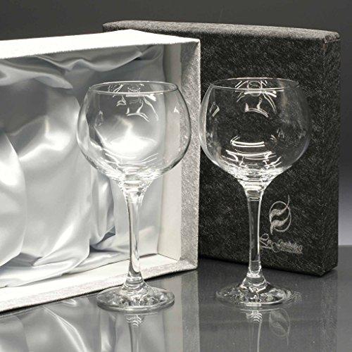 la galaica Set/Estuche de 2 Copas de Cristal para Gin Tonic, Colección COMBY.