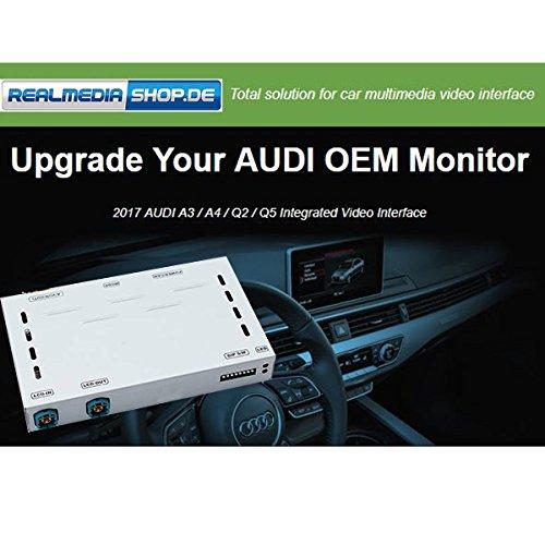 AUDI A3 A4 Q2 Q5 MMi3G GPS Touchscreen Navigation Multimedia Video Camera Interface +++REALMEDIASHOP (Pimp Passt Real)