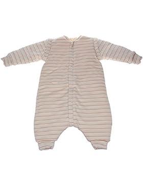 Labebe - Ganzjahres Babyschlafsack aus organischer Baumwolle mit Beinen und Langarm Schlafanzug