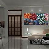 Impresión En Lienzo Nuevo Para Pared Decoración Hogar Sala Cocina Dormitorio Arte Abstracto Árbol Colorido Pintura Al Óleo (sin marco o bastidor)