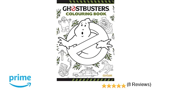Ghostbusters Doodle Colouring Book Amazoncouk Centum Books