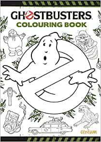 Ghostbusters Doodle Colouring Book Amazon Co Uk Centum Books 9781910917176 Books