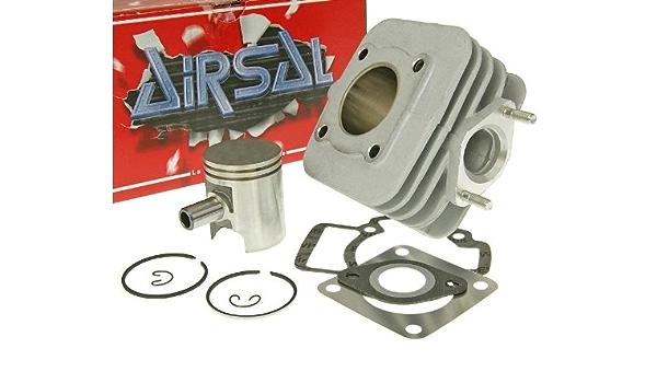 Zylinderkit Airsal Sport 50ccm Für Piaggio Tph 50 Typhoon 50 Dt Ac 93 97 Tec1t Auto